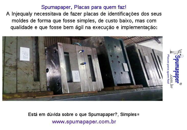 Identificação de moldes e ferramentas com Spumapaper-Foamboard-Placa Pluma-depron