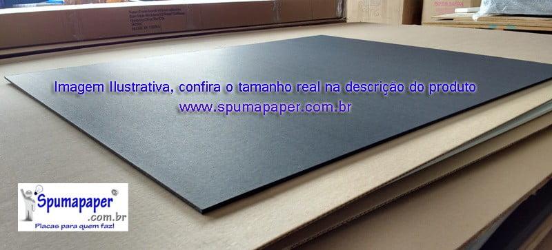 Placa Preta/ Branca/ Branca - 5PBBA2A - 64cm x 47cm x 5mm (Valor Unitário)