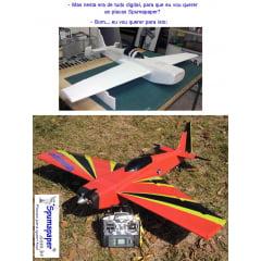 Aeromodelismo com Spumapaper-Foamboard-Placa Pluma-depron