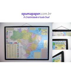 Colagem de Mapa