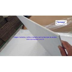 Placa Foamboard Spumapaper Auto-adesiva Branca/ Branca/ Autoadesivo - 5BBBAD1A - 90cm x 60cm x 5mm (Atacado= Pedidos acima de 10unidades)