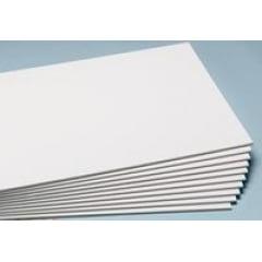 Placa Branca/ Branca/ Branca - 10BBB4A - 30cm x 22,5cm x 10mm (Valor Unitário)